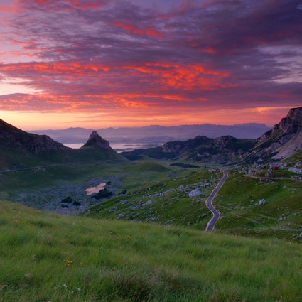 Durmitor Ring, a panoramic road around the mountain