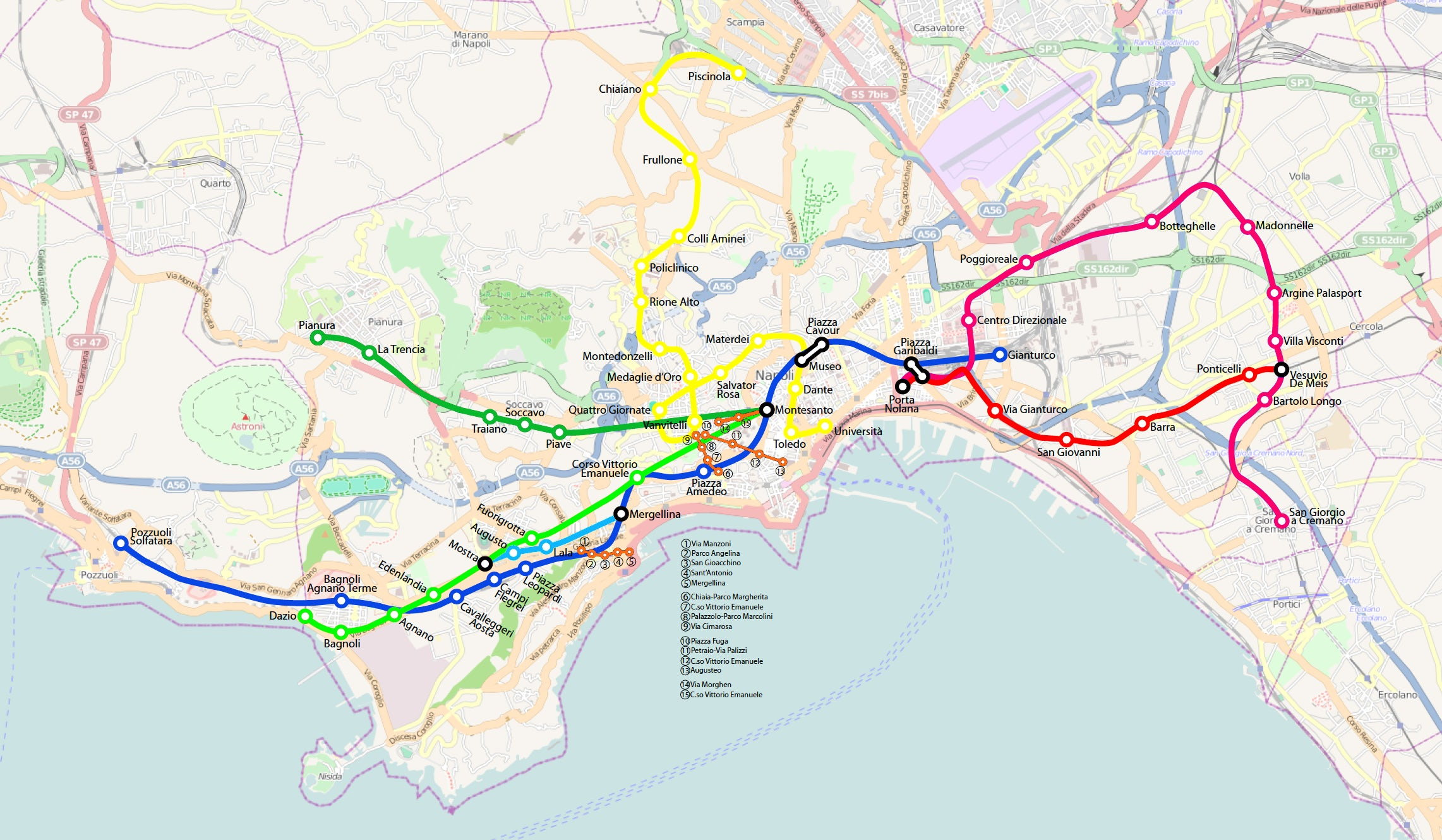 A handy guide to Naples metro system itinari