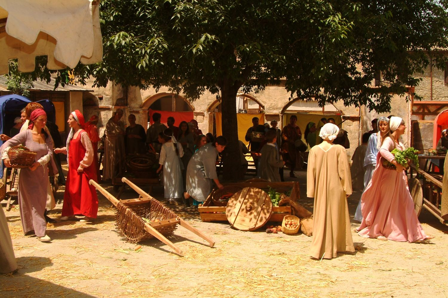 Mercato delle Gaite, Medieval Daily Life in Bevagna