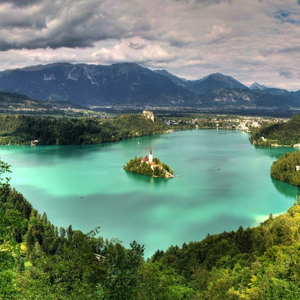 The legend of Lake Bled: The island of wishes