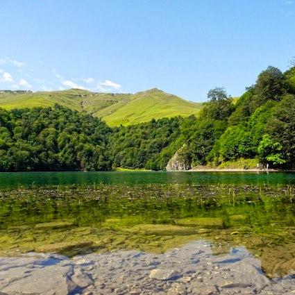 A beauty created by an earthquake – Lake Maralgol