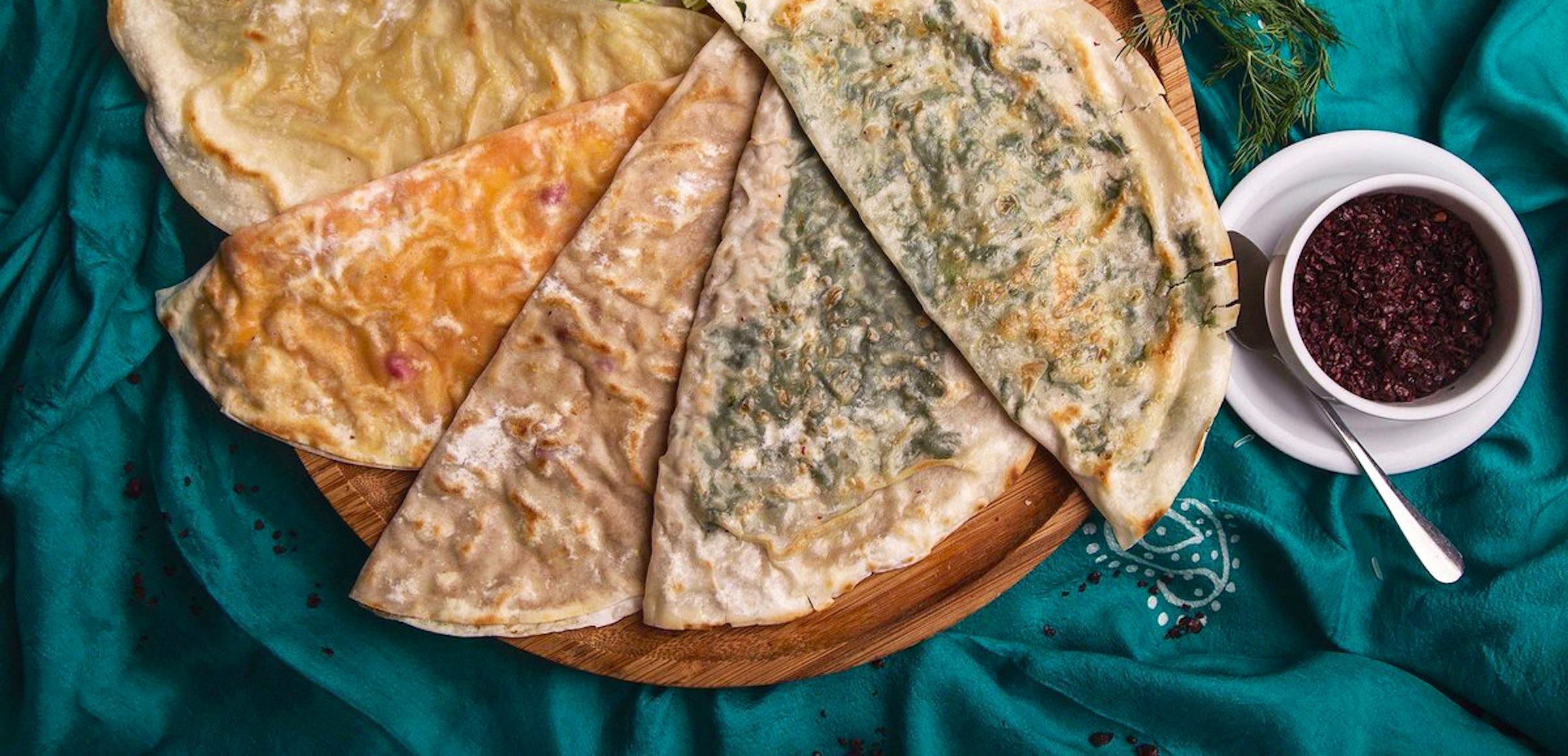 Azerbaijani cuisine: Qutab