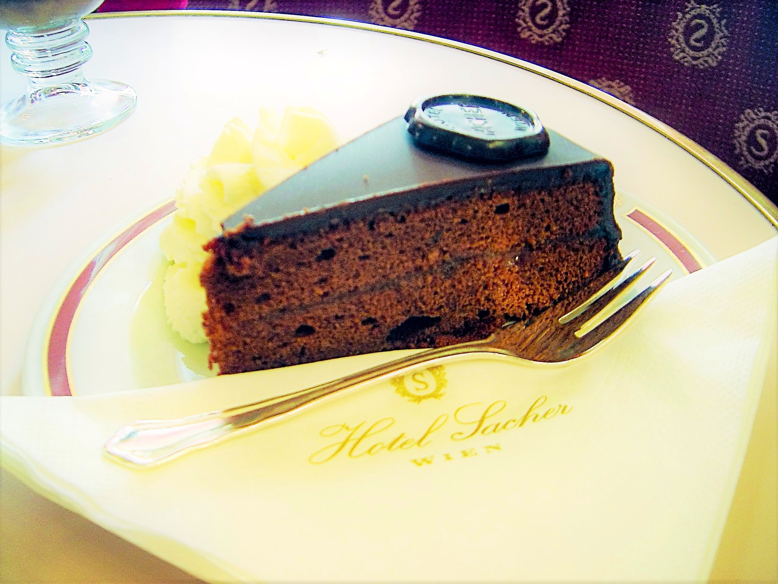 """The Queen among Chocolate Cakes """"Sacher Torte"""""""