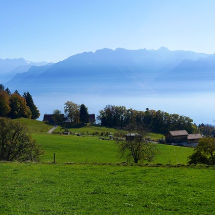 The Mont-Pèlerin: A balcony overlooking Lake Geneva