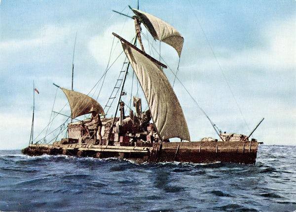 Kon-tiki museum and Thor Heyerdahl