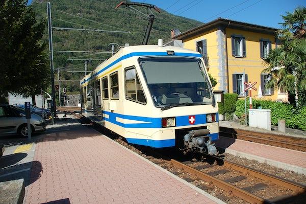 The Vigezzina - Centovalli train