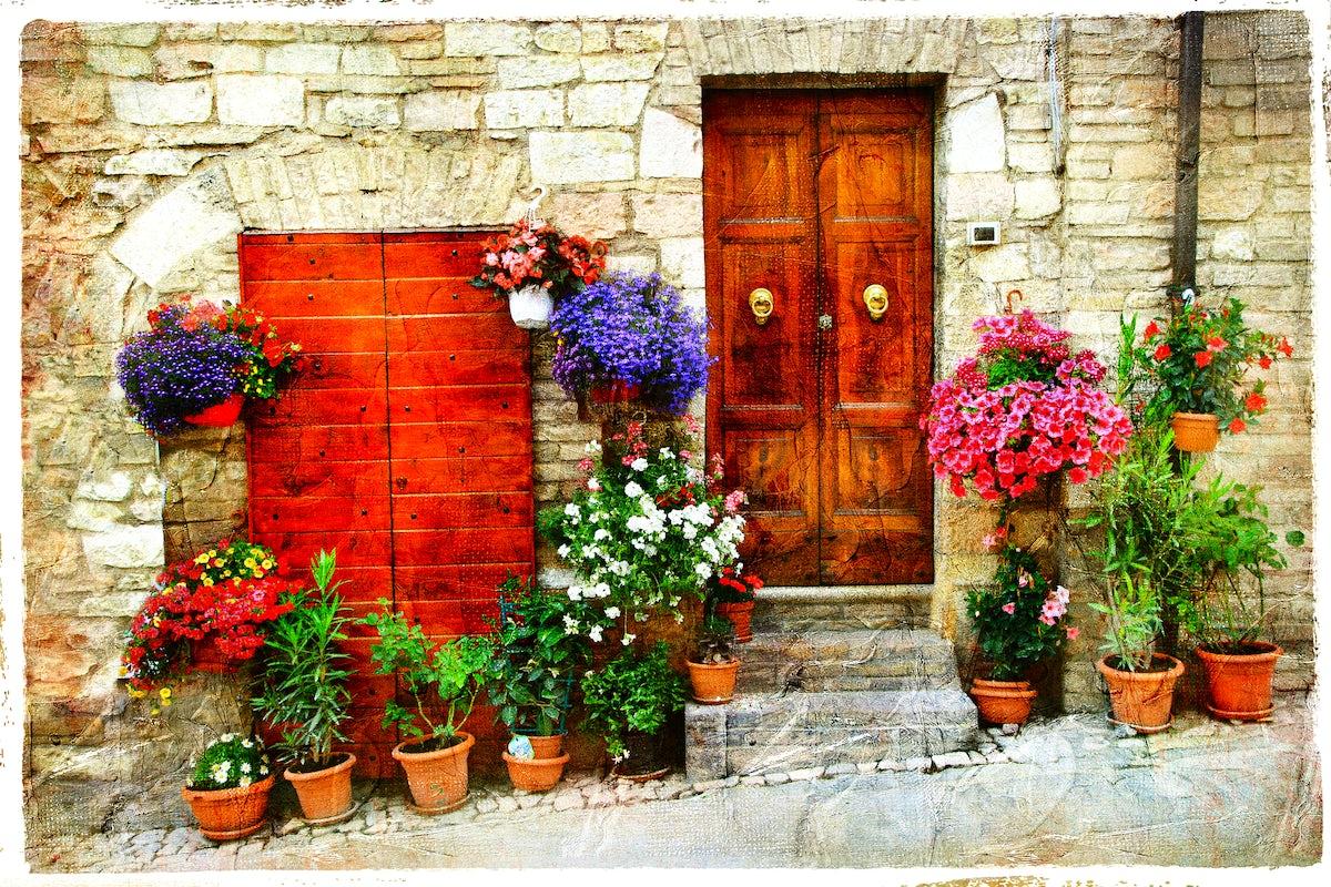 Spello: A Heaven For Flower Lovers
