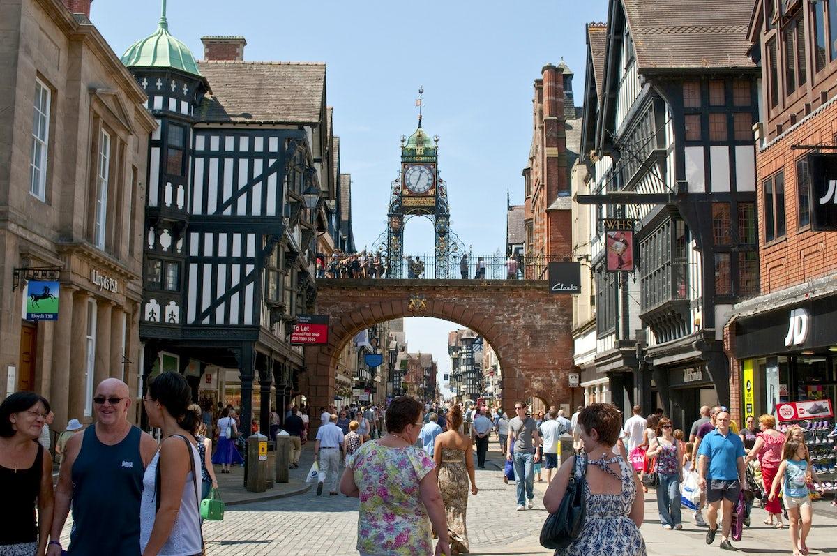 Roman History in Chester, UK