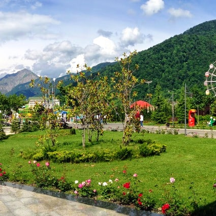 Gabala – the place of green love