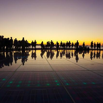 Zadar sunset - Alfred Hitchock's favourite