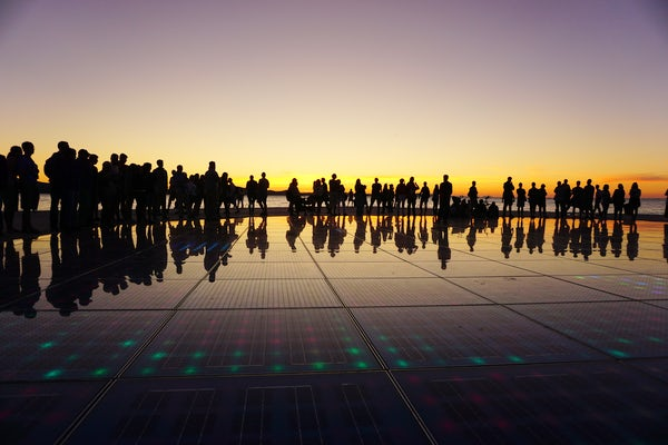 Zadar sunset - Alfred Hitchock's favourite