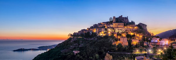 Èze - the most beautiful village in the French Riviera