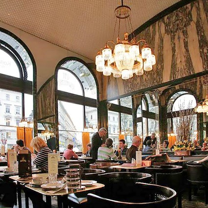 Viennese UNESCO Protected Coffee House Culture