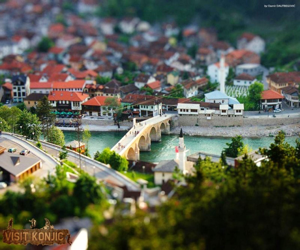 Konjic, a town that hides Balkan's Top Secret