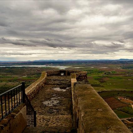 A Lonely Hillside in Spain - Feria Castle