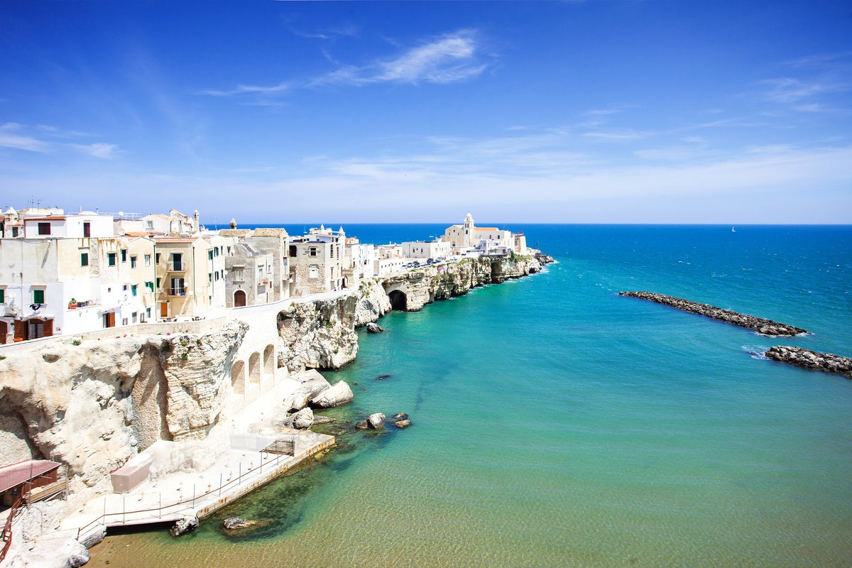 Three must-visit beaches in Gargano, Italy's spur