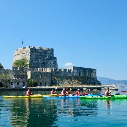 Greek Adventure; Sea Kayaking through the medieval Nafplio