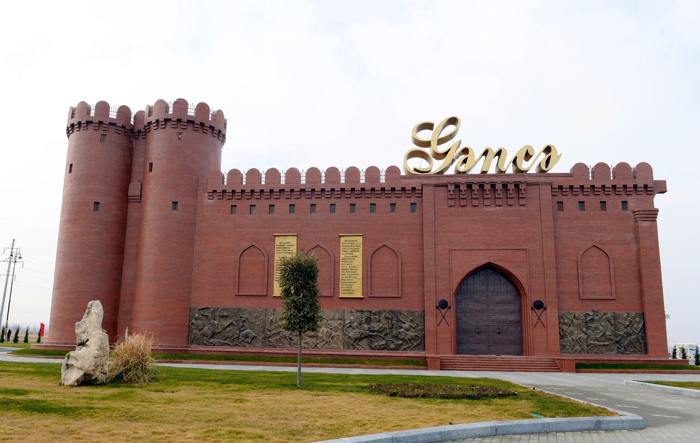 A city made of bricks – Ganja