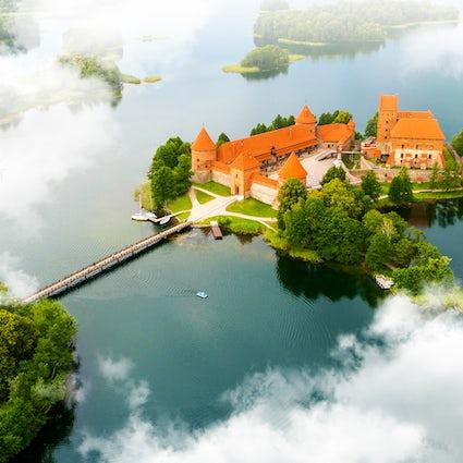 Lithuanian gem - Trakai Castle