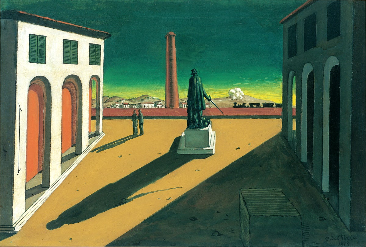 The world of Giorgio de Chirico