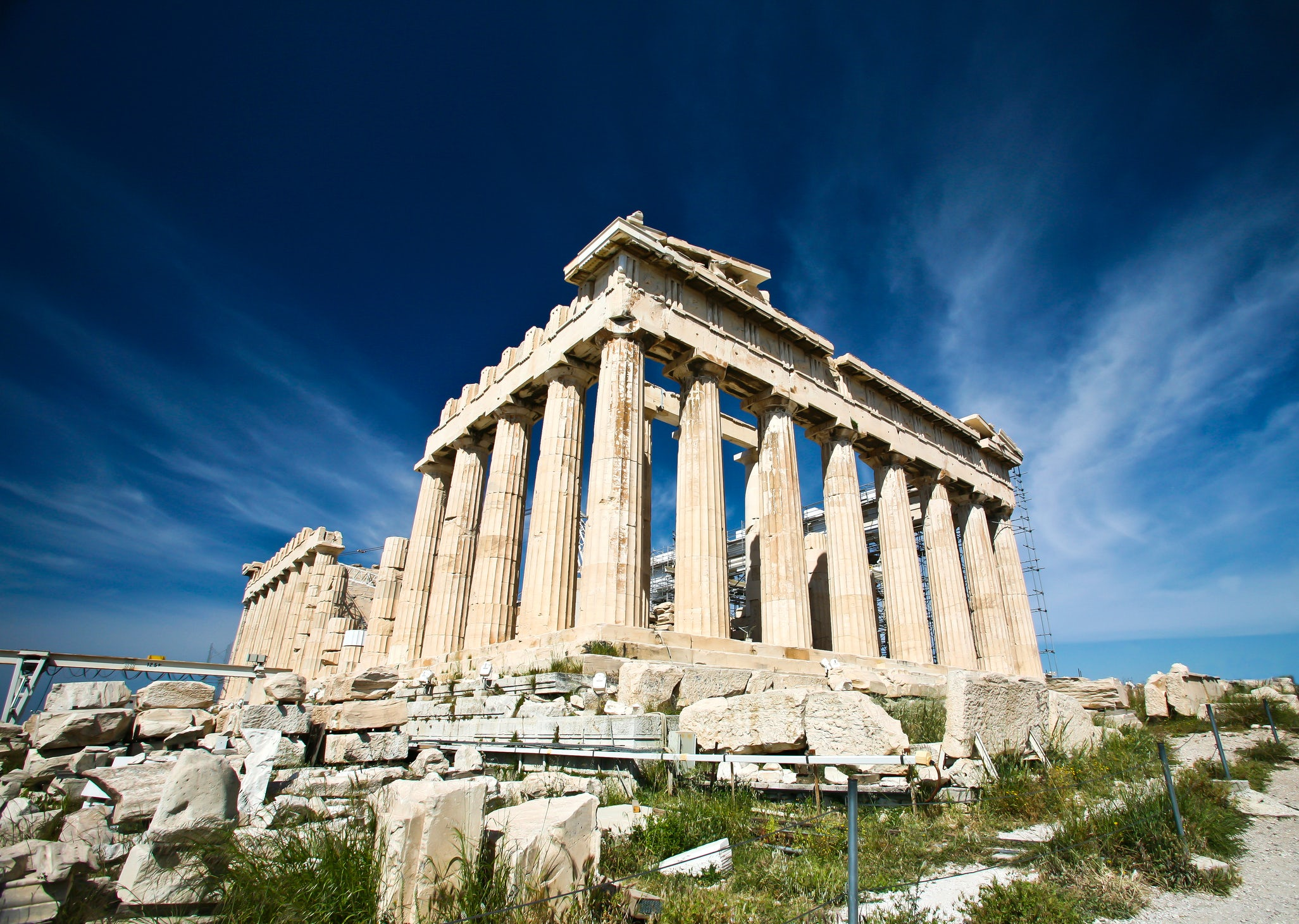 The story of Parthenon, standing still 2,500 years!