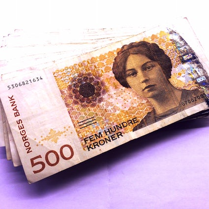 Norway for enthusiasts of the Krone and money