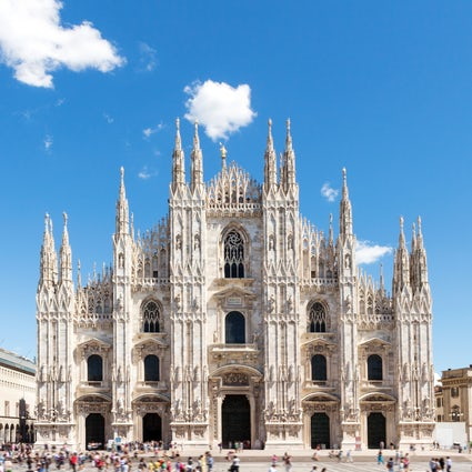 The Duomo of Milan, from the roof to the basement