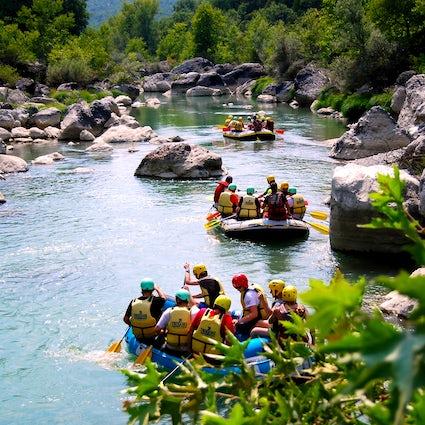 Greek Adventure; Rafting in Aliakmonas