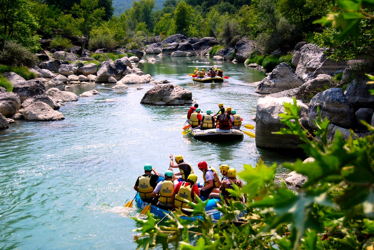 Greek Adventure; Rafting in Aliakmonas