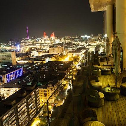Restaurants in Baku with the best city view