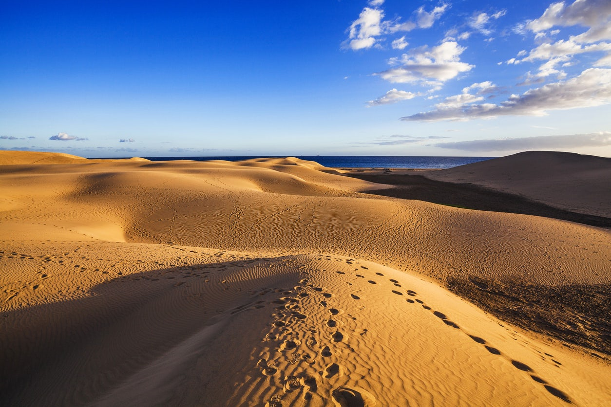 Gran Canaria; The Maspalomas dunes