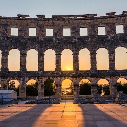 Pula and its Roman spirit