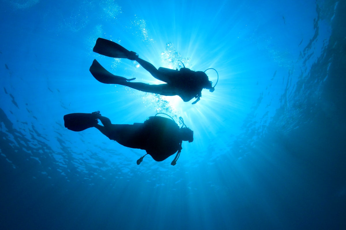 Scuba Diving in the Middle of England