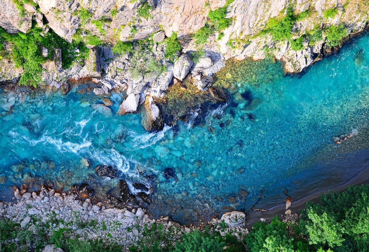 Europe's clearest tear - Tara river