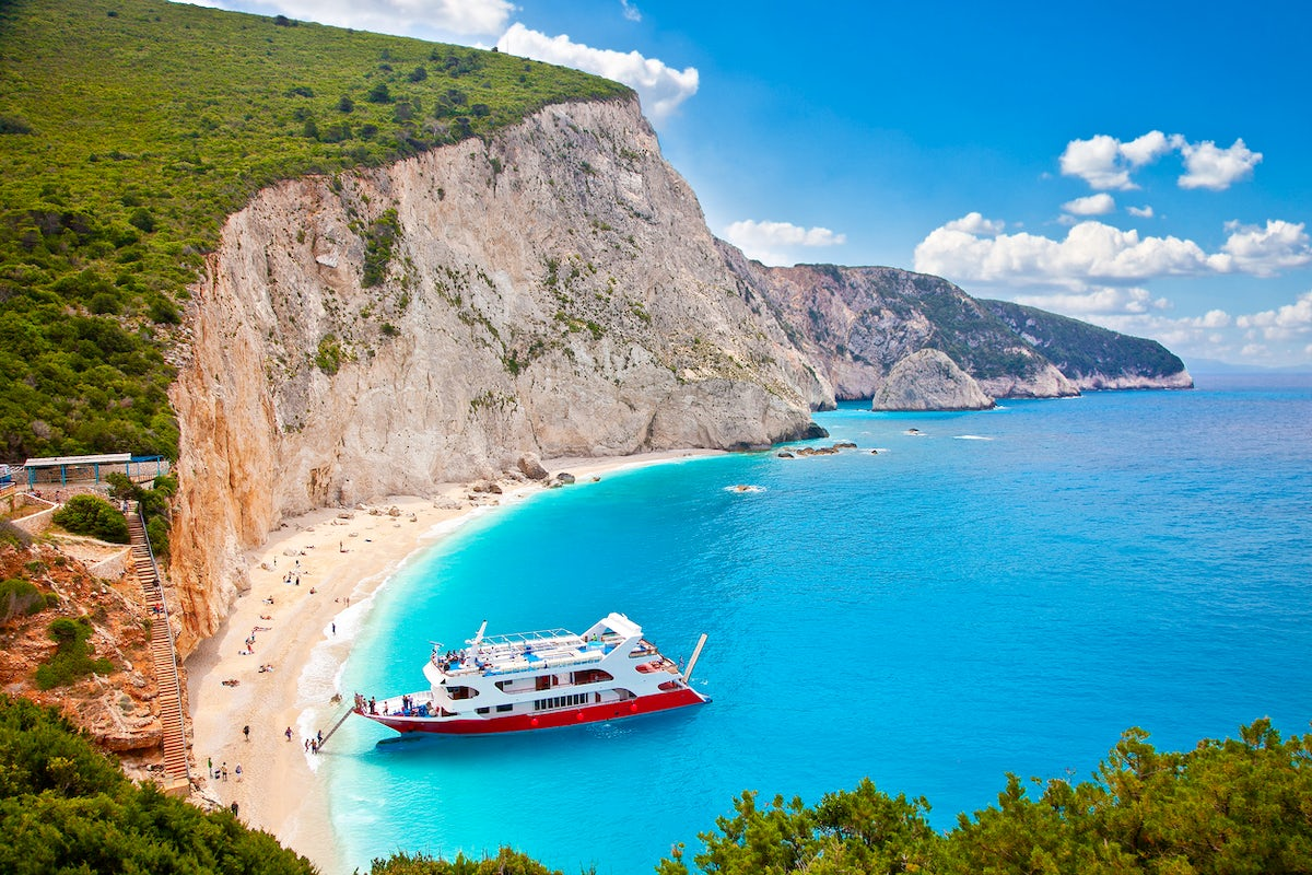 The Caribbean of Greece, Lefkada and its sky-colored blue beaches