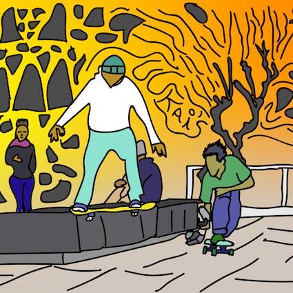 Universitat Barcelona - Skateboarding spot investigation