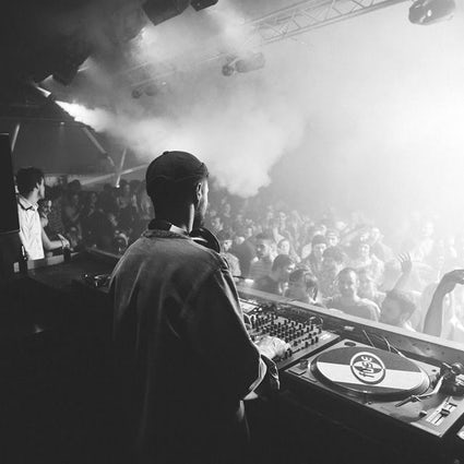 Brussels by night: Techno nights during Winter time