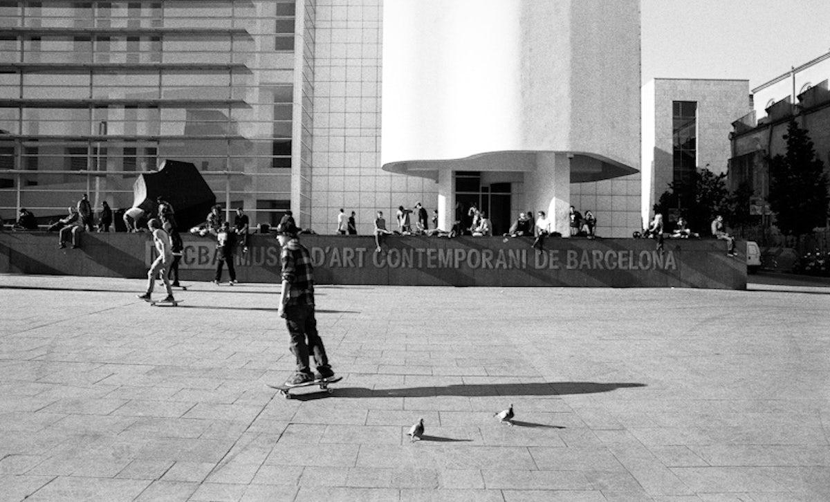 The Barcelona skate scene overview