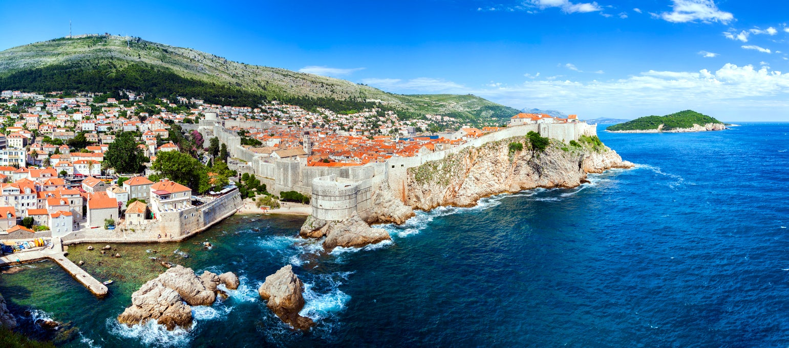 """Game of thrones"" filming locations in Croatia - Dubrovnik"
