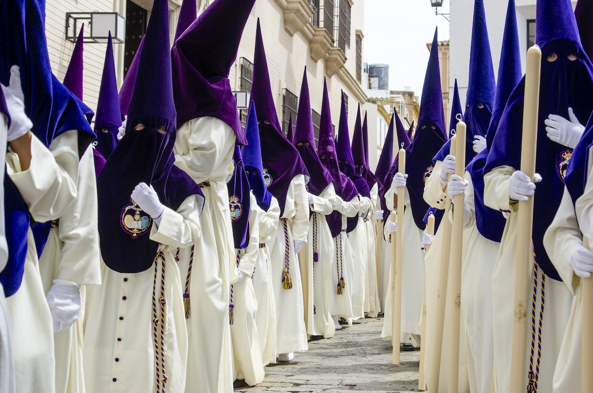 Easter in Seville; The processions