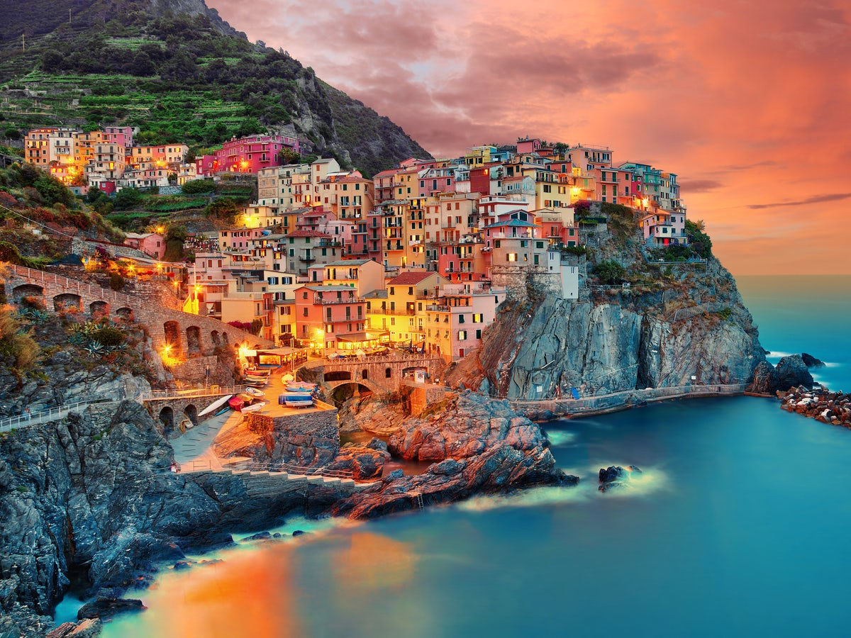 The Pastel Colors Of Cinque Terre