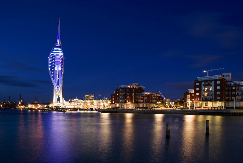 Windswept Portsmouth