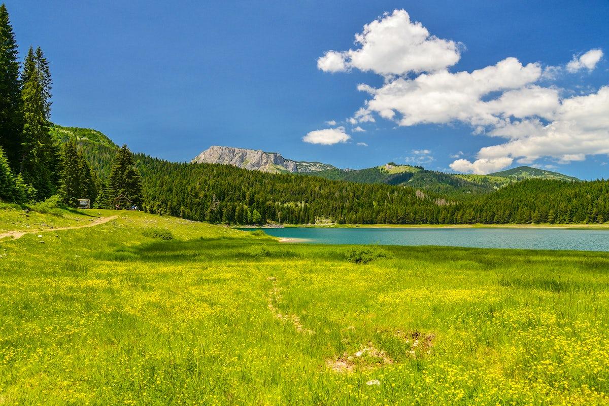Mountain eyes of Durmitor: Black lake