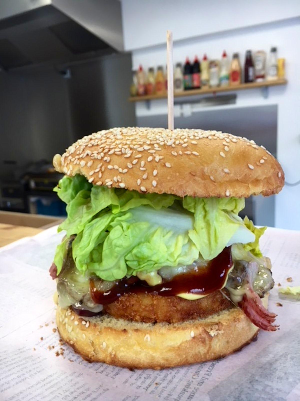 Chez Toto - Probably the best Burgers around Morzine