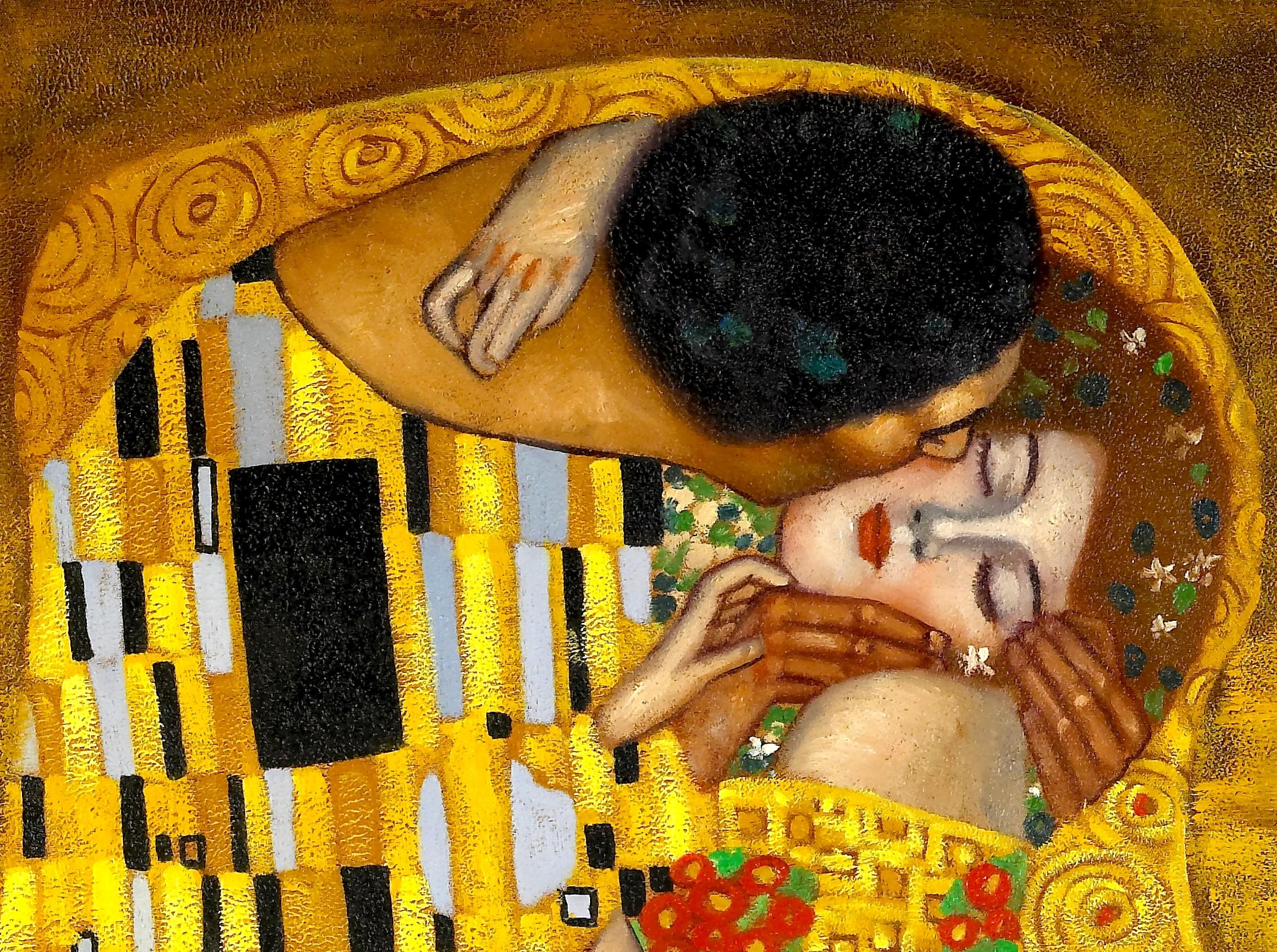 """The Kiss"" - Sensual Artwork"