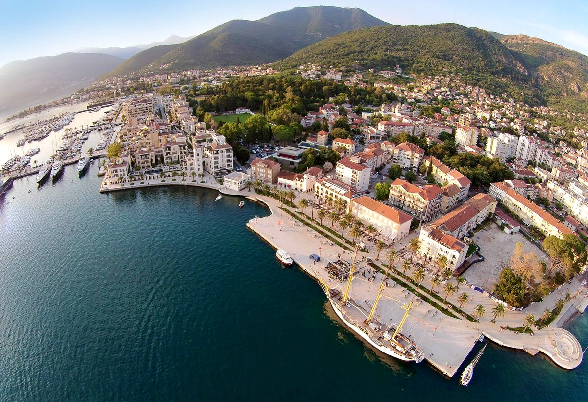 Tivat - the youngest town in Boka Bay