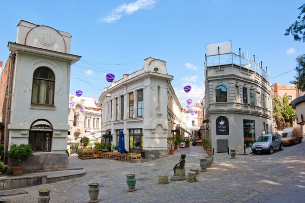 Shardeni Street – A center of the city's cultural and social life