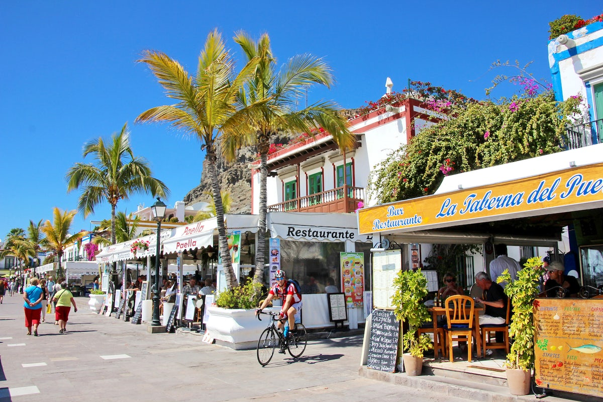 Gran Canaria; A bike trip from the north to the south