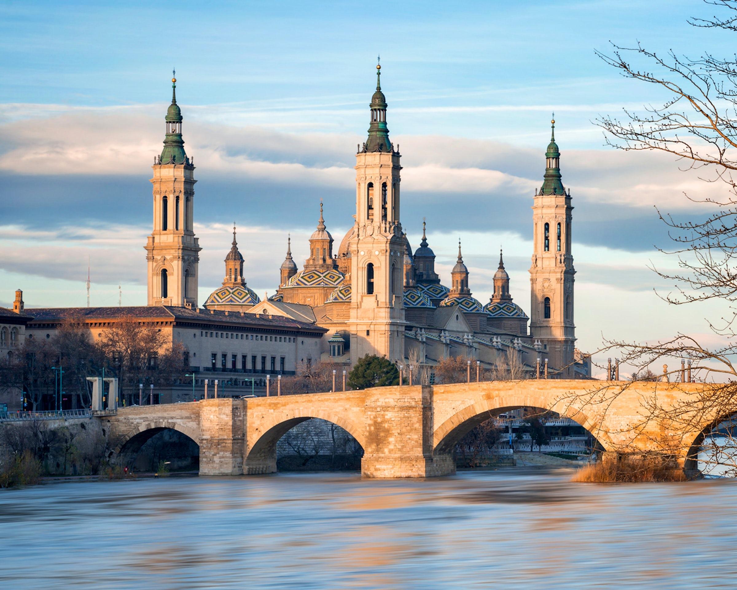 First time in Zaragoza