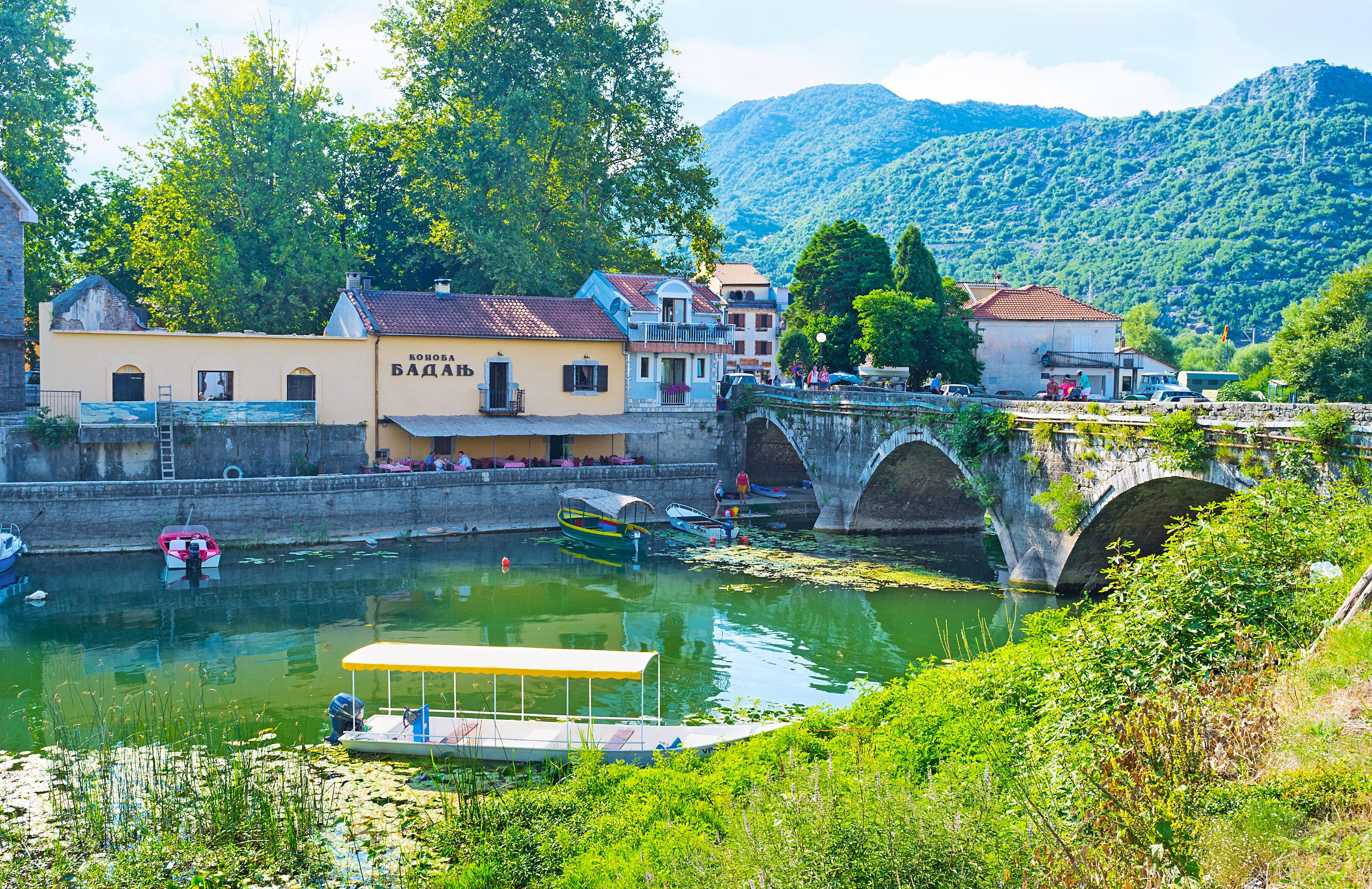 Virpazar - a lovely fisherman's village